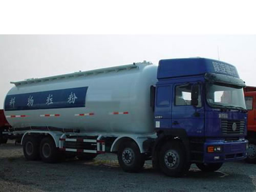 SHACMAN F2000 8×4 Powder Truck